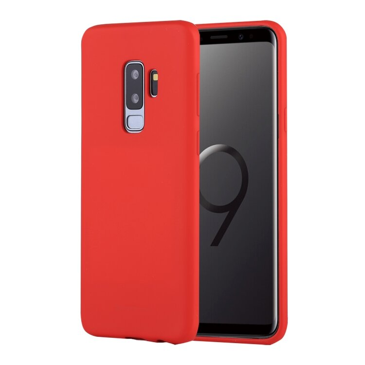 Силиконовый чехол MERCURY для Samsung Galaxy S9 Plus / S9+ Goospery soft-feeling (Red)