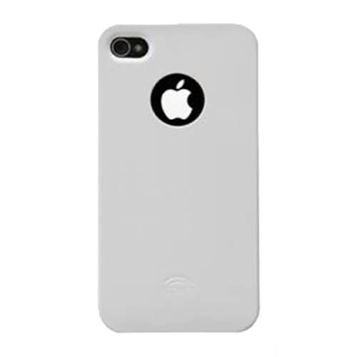 Чехол накладка для iPhone 4/4S iCover Glossy, White (IP4-G-W)