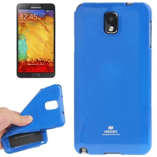 Гелевый чехол Mercury для Samsung Galaxy Note 3 / N9000 (Blue)