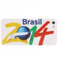Накладка 2014 Brazil World Cup Football Club для iPhone SE / 5S / 5 вид 1