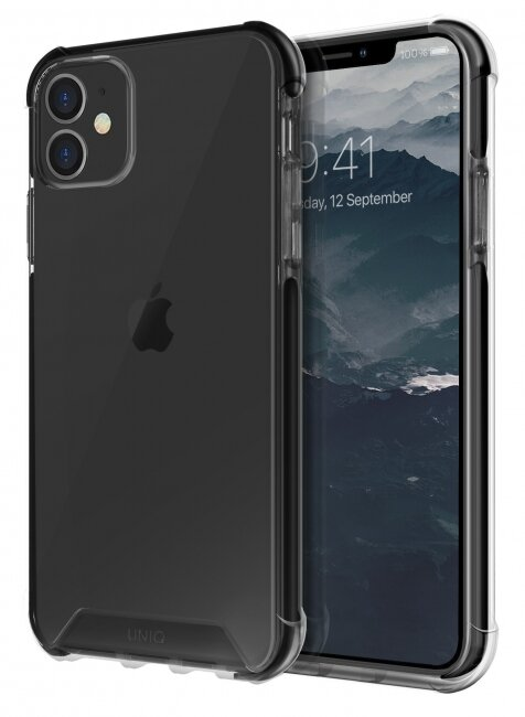 Чехол-накладка для iPhone 11 Pro Uniq Combat Black (IP5.8HYB(2019)-COMBLK)