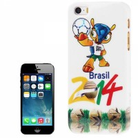 Накладка 2014 Brazil World Cup Football Club для iPhone SE / 5S / 5 вид 2