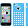 iPhone 5C Hollow Dot TPU Case for iPhone 5C (Blue).jpg