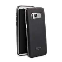 Чехол накладка Uniq для Samsung Galaxy S8 Bodycon, Black (GS8HYB-BDCBLK)