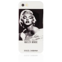 Чехол накладка Dolce&Gabbana для iPhone 5S / 5 Marilyn Monroe