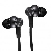 Гарнитура Xiaomi Piston Stereo In-Ear с микрофоном и регулятором громкости для iPhone / iPad / Xiaomi / Samsung Galaxy / HTC / Sony / Huawei, Black (HSEJ02JY)