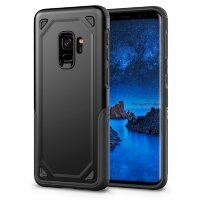 Противоударный чехол для Samsung Galaxy S9 Shockproof Rugged Armor (Black)
