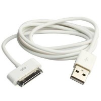USB кабель slim для iPhone 2g/3g/3gs/4/4s, iPad 1/2/3, iPod Touch
