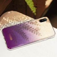 Чехол для iPhone X JOYROOM Azure Series Gradient с градиентом (Purple)